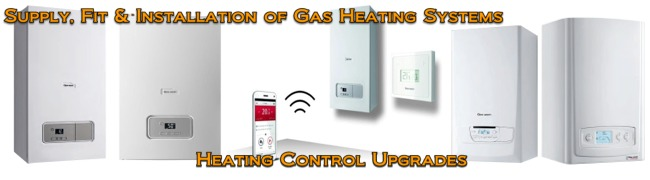 Supply, Fit & Installation of Gas Heating Systems - Heating control upgrades